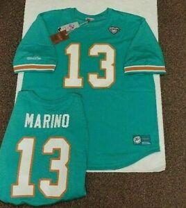 Dan Marino Mitchell & Ness Dolphins 2X TALL 6X  Mens Mesh Crewneck Jersey $110