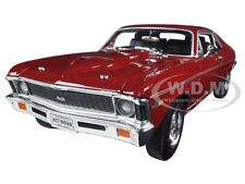 1969 CHEVROLET NOVA SS 427 RED BALDWIN MOTION LTD 1002pc 1/18 AUTOWORLD AMM1073