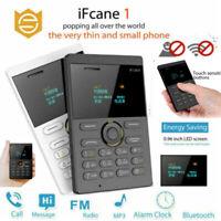 iFcane E1 Unlocked Ultrathin Pocket Phone 4G SIM Bluetooth Mini Cell Phone Unloc
