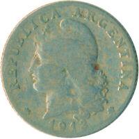 COIN / ARGENTINA / 20 CENTAVOS 1913    #WT5241