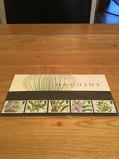 Royal Mail Orchids Mint Stamps