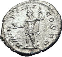 SEVERUS ALEXANDER  225AD Rome Authentic Ancient Silver Roman Coin i73607
