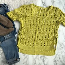 a915264b2 MOTH Yellow Sweaters for Women