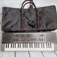 Vtg Casio Casiotone Mt-210 Electronic Musical Instrument Keyboard W/ Case Works