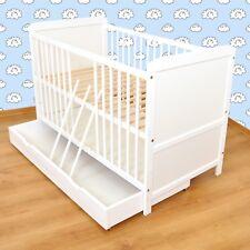 madera cama cuna para bebé con cajón ✔ se convierte en Cama Junior - 129 gbp