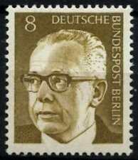 Berlin 1970-3 SG#B351, 8pf President Heinemann Definitive MNH #D72684