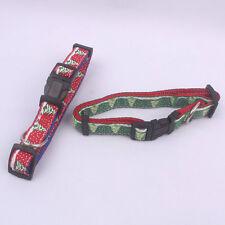 Brand New Nylon &Polyester Collars for Small or Medium Pets Christmas Tree Logo