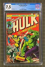 INCREDIBLE HULK #181 Marvel Comics 1974 CGC 7.5 WOLVERINE 1st Full Appearance