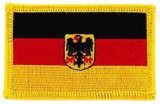 Patch écusson brodé Drapeau Allemagne Aigle allemand Thermocollant Insigne