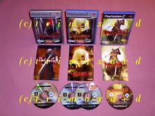 3x PS2 _ Devil May Cry 1 & Devil May Cry 2 & Devil May Cry 3 _Sehr guter Zustand