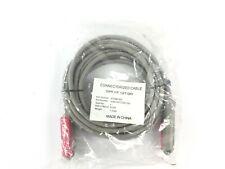 25 PR F/F 15FT GRY Connectorized Cable PN 516673 PT-C25C15G