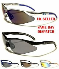 Sport XLOOP Mens Womens Semi-Rimless Wrap Around Mirror Sunglasses 100%UV400 132