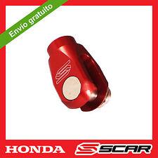 DISTANCIADOR PEDAL FRENO HONDA CR CRF 125 250 150 450 CRF250R CRF450R ROJO
