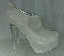 "New Look Women's Faux Suede Stiletto Very High Heel (greater than 4.5"") Shoes"