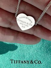 Tiffany & Co Return To Tiffany Heart Tag Sterling Silver Bracelet