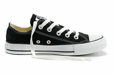 Black Women Lady ALL STARs Chuck Taylor Ox Low Top classic Canvas Sneakers US7.5