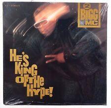 "Sealed 2 BIGG MC: He's King Of The Hype LP CRUSH MUSIC 12"" Single US 1990"