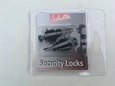 Schaller Security Strap Locks - Black 14010401