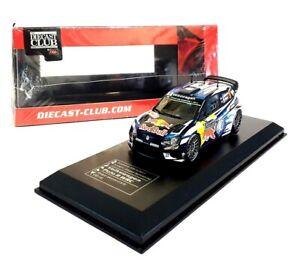 2016 VOLKSWAGEN POLO R WRC #6 Monte Carlo Rally  - 1:43 Die-Cast Car Model IXO