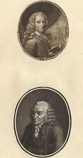 Portrait de Voltaire - Gravure XVIIIème siècle