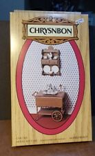 Dollhouse Miniature Tea Cart Kit Chrysnbon 1:12 inch scale Y48 Dollys Gallery