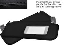 BLACK STITCHING FITS VW CORRADO 88-95 2X SUN VISORS LEATHER COVERS ONLY