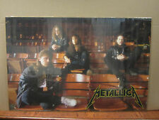 Metallica rock n roll poster 1989 1981