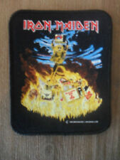 Iron Maiden Holy Smoke patch sew on Vintage music metal