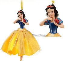 NEW Disney Store Princess SNOW WHITE & 7 Dwarfs Christmas Holiday Ornament 2012