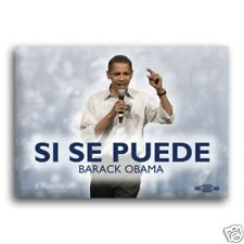 Unofficial OBAMA *Si Se Puede* Campaign Button / Pin