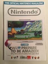 Nintendo Official Magazine Issue 84 August 2012 Wii U Mario Pikmin. ONM
