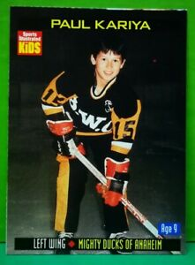 Paul Kariya card 2000 Sports Illustrated For Kids #880
