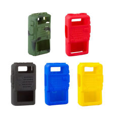 Plactical Soft Handheld Silicon Cover Case For Baofeng UV-5R/A/B/C/D/E 5 Colors