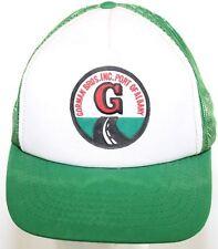 VTG Gorman Bros Inc Port of Albany New York Trucker Hat Green White Snapback Cap