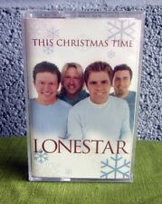 LONESTAR This Christmas Time cassette tape 2000 country music Richie McDonald