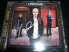 Lifehouse Out of the Wasteland Signed Autographed CD - New