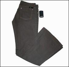 NUEVO CON ETIQUETA Mujer Oakley Jeans Industrial vaqueros W26 L32 Size 6 Gris