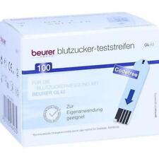 BEURER GL40 Blutzuckerteststreifen 100 St PZN 9929683