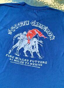 Scotty Cameron NEW Gallery (XL) EL TORO The Bull CIRCLE T T-Shirt *Navy Blue*