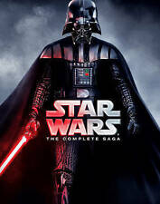 Star Wars Episodes 1 2 3 4 5 and 6 The Complete Vader Saga 9 Disc Blu-ray Set