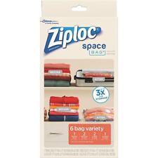 Ziploc 6Ct Variety Space Bag