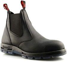 Redback Usbbk Men Black Easy Escape Steel Toe Saftey Pull On Low Top Shoes US 13