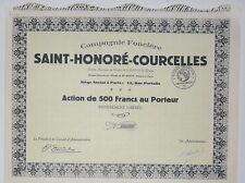Compagnie Fonciere SAINT-HONORE-COURCELLES