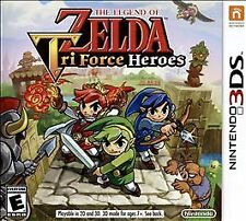 Legend of Zelda: Tri Force Heroes (Nintendo 3DS, 2015) GAME ONLY NICE SHAPE
