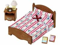 SYLVANIAN FAMILIES - SEMI-DOUBLE BED TOY