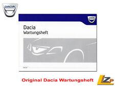 Wartungsheft Dacia Duster / Sandero / Logan / Dokker NEU/OVP