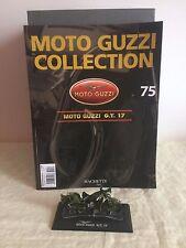Moto Guzzi G.T. 17 con fascicolo n°75 scala 1:24 hachette