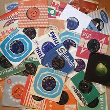 """1960s & 50s 7"""" VINYL SINGLES: Pick from 1200 records: £1.69each: Buy 7 + 1 FREE!"""