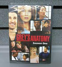 Grey's Anatomy Season 1- 2 Disc Set | New & Sealed | DVD | SHIPS 1st Class