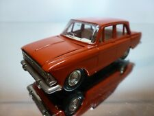 USSR CCCP MOSKVITCH 408 - RED 1:43 - EXCELLENT CONDITION 4